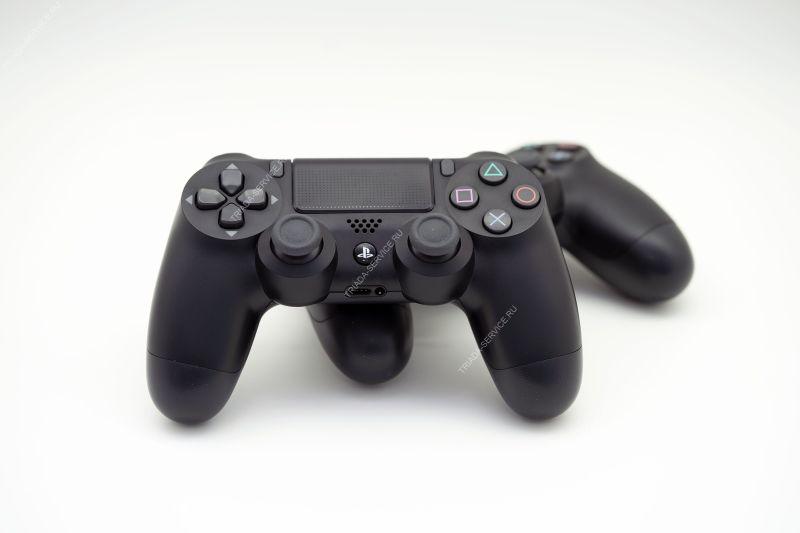Геймпад Dualshock 4 (rev. 2, оригинал) - черный