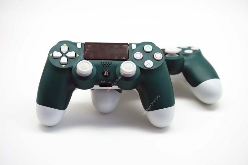 Геймпад Dualshock 4 (rev. 2, оригинал) - Cont Alpine Green зеленый