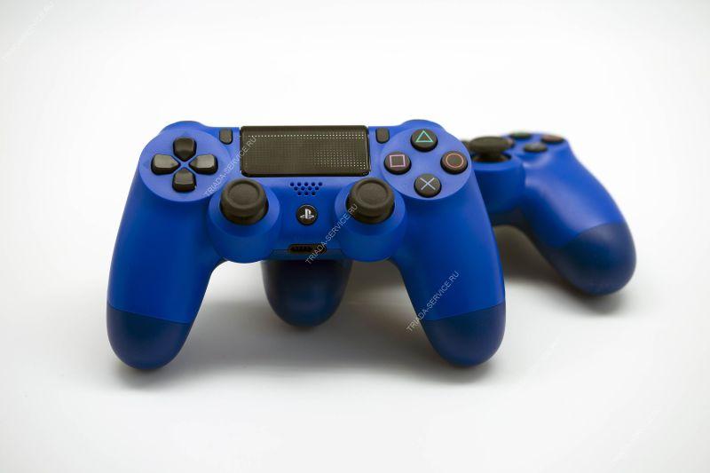 Геймпад Dualshock 4 (rev. 2, оригинал) - Wave Blue синий