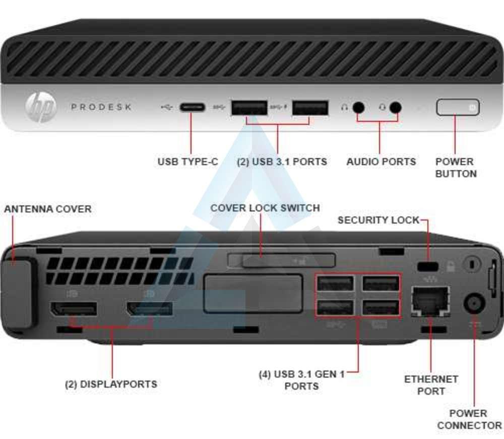 Details about 1FY44UTR#ABA HP ProDesk 600 G3 W10P-64 i5 7500T 2 7GHz 500GB  SATA 4GB(1x4GB) DDR