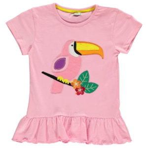 Krátké rukávy T Shirt Kojenecké dívky