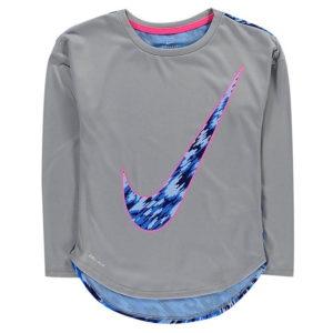DF GFX LS T Shirt Dětské dívky