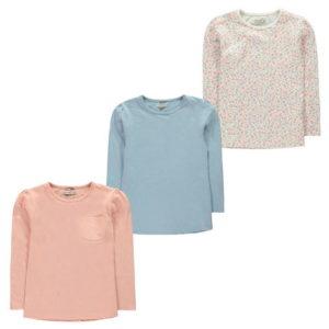 Balení tří triček dívčích dívčích