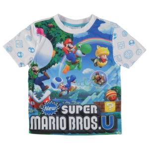 Dětské chlapci podprůměrné tričko