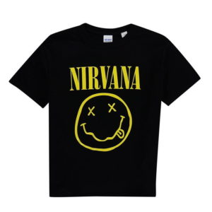 Oficiální kapela Nirvana T Shirt Junior Boys