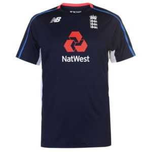 Anglie Cricket Training T Shirt Mens
