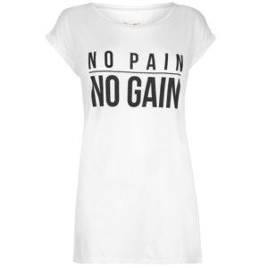 Slogan T Shirt Ladies