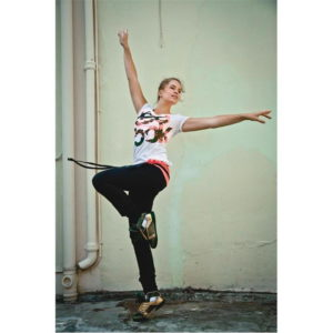 Dance Fitness Grafické tričko dámské