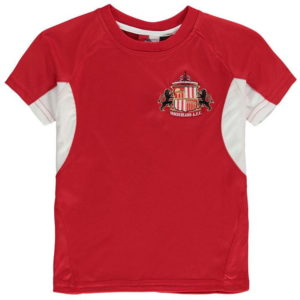 Sunderland AFC Poly T Tričko Junior Boys