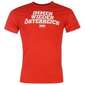 Rakousko Fan T Shirt Pánské