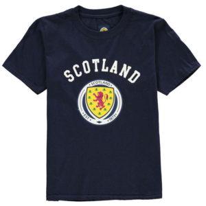 Skotsko Crest T Shirt Junior Boys