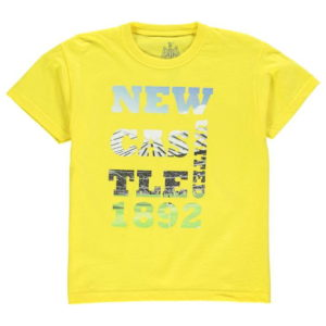 Photo Text T Shirt Kojenecká chlapci