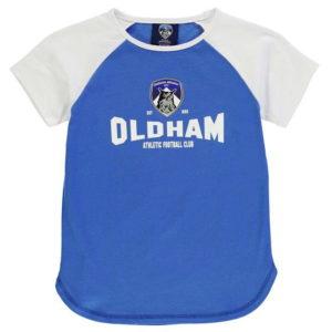 Oldham grafické tričko mladé dívky