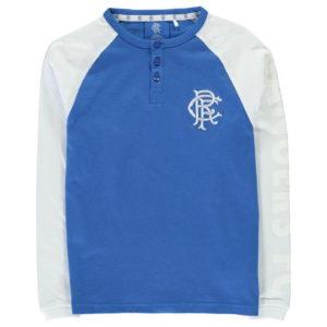 FC dlouhý rukáv tričko Junior Boys