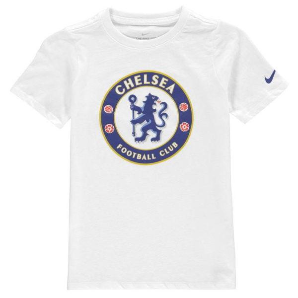 Chelsea FC Crest tričko Junior Boys