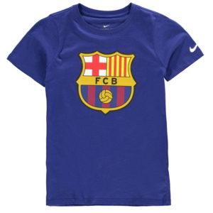FCB Crest T Shirt Junior Kluci