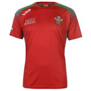 Wales Poly T Shirt Pánské