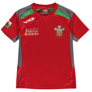 Wales Poly T Shirt Junior