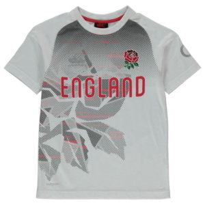 England Ragby grafické tričko Junior