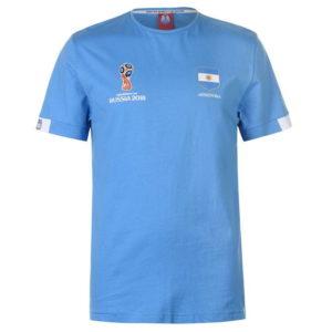 Světový pohár Rusko 2018 Argentina Core T Shirt Pánské