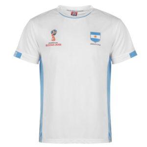 Světový pohár Rusko 2018 Argentina Poly T Shirt Pánské