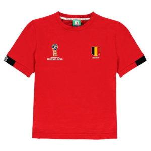 Světový pohár Rusko 2018 Belgie Poly T Shirt Kojenci