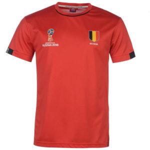 Světový pohár Rusko 2018 Belgie Poly T Shirt Pánské