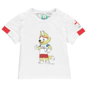 Světový pohár Rusko 2018 Anglie Mascot T Shirt Kojenci