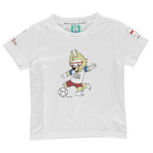 Světový pohár Rusko 2018 Anglie Mascot Poly T Shirt Kojenci