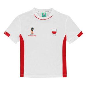 Světový pohár Rusko 2018 Polsko Poly T Shirt Junior