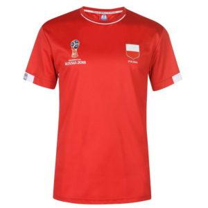 Světový pohár Rusko 2018 Polsko Poly T Shirt Pánské