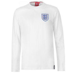 Anglie Crest dlouhý rukáv tričko pánské
