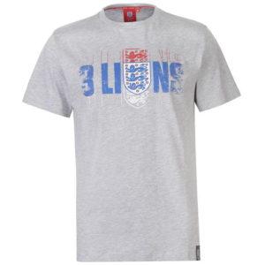 Anglie 3 Lions T Shirt pánské