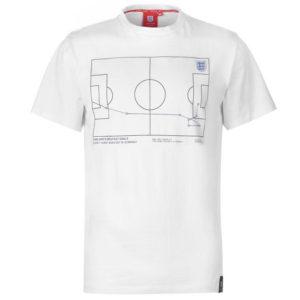 Anglie Geoff Hurst 66 T Shirt Pánské