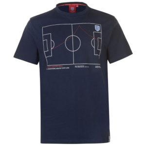 Anglie Paul Gascoigne 96 T Shirt Pánské