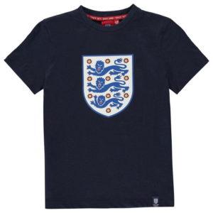 Velká Británie Crest T Shirt Junior