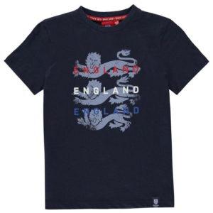 Anglie Lions T Shirt Junior