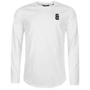 Drake dlouhý rukáv T Shirt Pánské