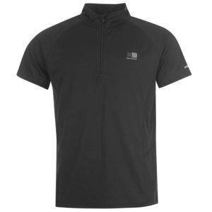 Zip krátký rukáv tričko pánské