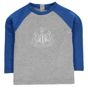 Crest s dlouhým rukávem T Shirt Baby Boys