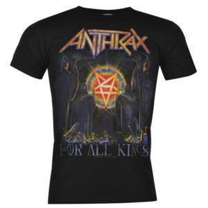 Anthrax T Shirt Pánské