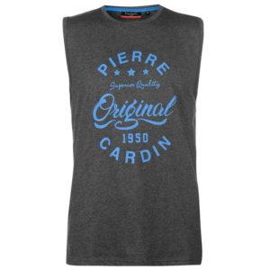 Logo Sleeveless T Shirt pánské