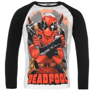Deadpool dlouhý rukáv tričko pánské