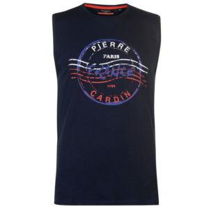 Grafické tričko bez rukávů T Shirt Mens