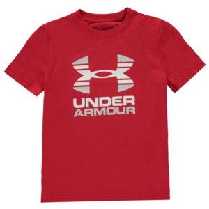 Dvě tóny s krátkým rukávem T Shirt Junior Boys