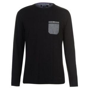 Chambray LS Pocket T Shirt pánské