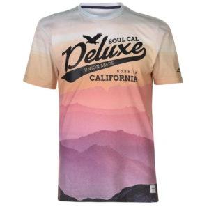 Tričko Deluxe Ombre Sub T Shirt pánské