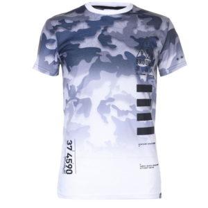 Camo T Shirt pánské