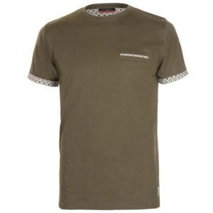 Tvarovaná trička s krátkým rukávem Pánská