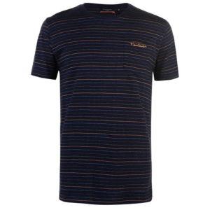 Tričko Pinstripe T Shirt pánské